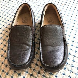 Children's Place Boys Brown Leather Shoes